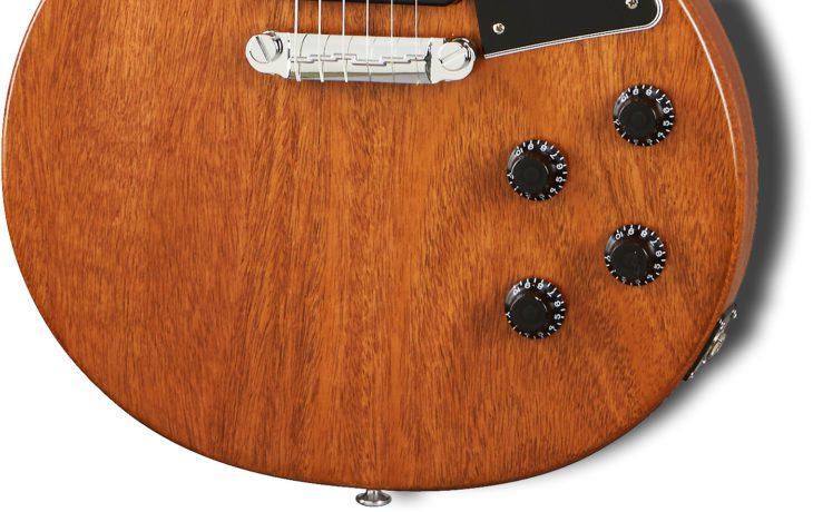 Gibson LP Special Tribute P-90 E-Gitarre Regler