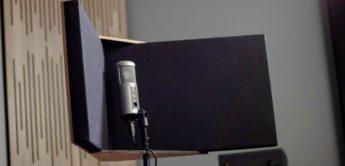 GIK Acoustics stellt mobile Gesangskabine VISO-Booth vor