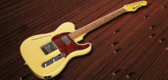 Test: G&L Tribute Asat Classic Bluesboy, E-Gitarre