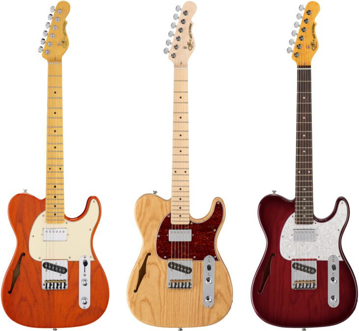 G&L Tribute Asat Classic Bluesboy E-Gitarre Modelle