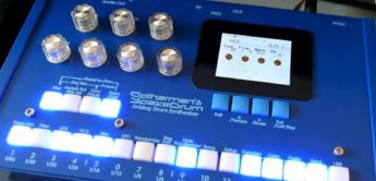 Superbooth 20: Gotharman's SpazeDrum – Hybrid Drum Machine