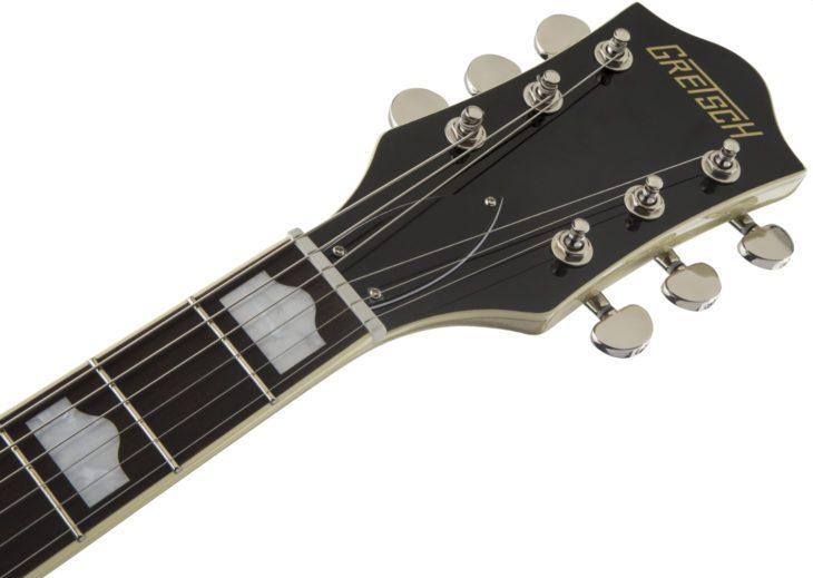 Der Hals einer Gretsch-Gitarre