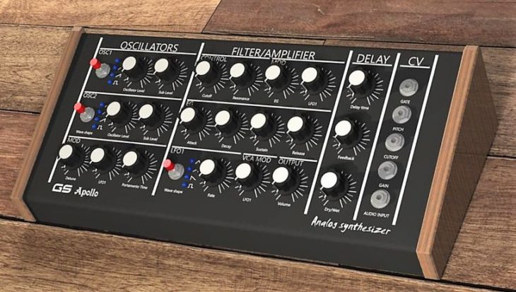 gs music apollo II synthesizer