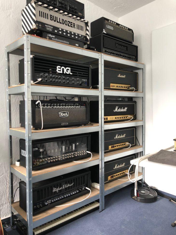 Guitar Recordings Verzerrte Gitarren