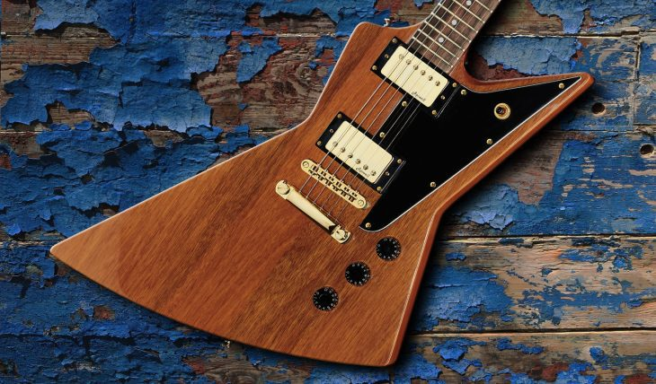 Harley Benton EX-76 Classic GHW AN E-Gitarre