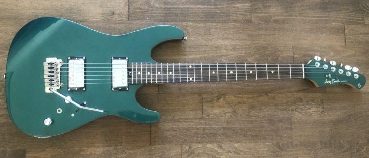 Harley Benton Fusion-II HH EB Ocean Turquoise E-Gitarre