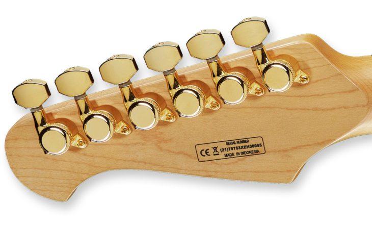 Harley Benton Fusion-II HH EB PSP E-Gitarre Tuner