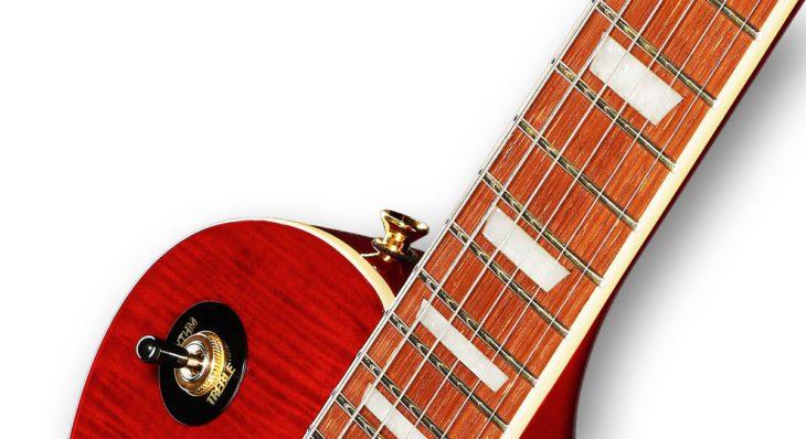 Harley Benton SC-550 Black Cherry Flame E-Gitarre Jatoba Griffbrett