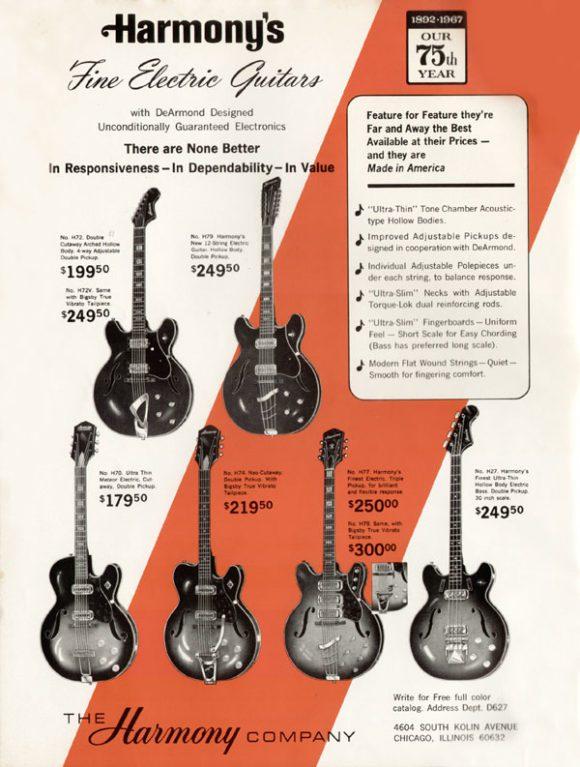 Harmony Guitars Rebel E-Gitarre Test