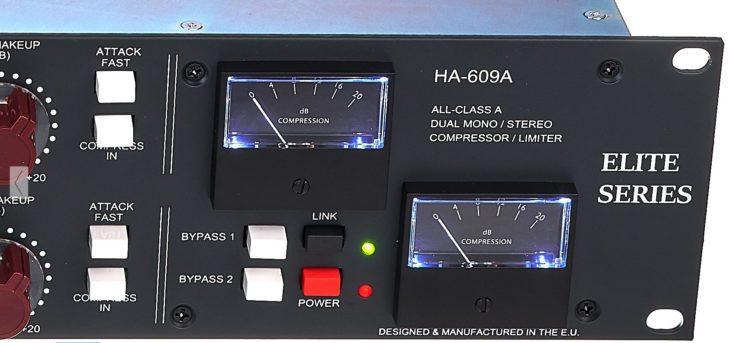 Test Heritage Audio HA 609 A 04