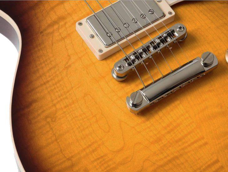 Heritage Guitar H-150 OSB Decke Top
