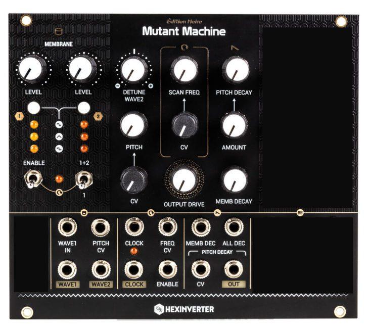 Hexinverter Mutant Machine Herstellerbild bearbeitet Modulfront Bereich MEMBRANE Interface