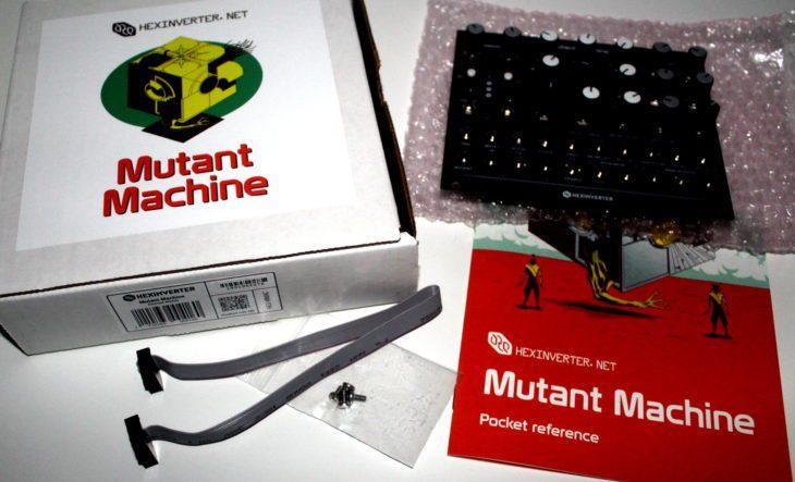 Hexinverter Mutant Machine Userbild Verpackung Ausgepackt Packungsinhalt