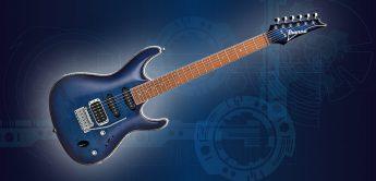 Test: Ibanez SA360NQM-SPB, E-Gitarre