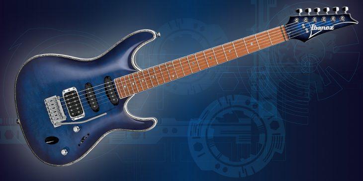 Ibanez SA360NQM-SPB E-Gitarre