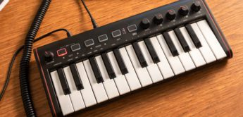 Test: IK Multimedia iRig Keys 2 Mini, MIDI-Keyboard