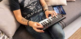 IK Multimedia erweitert seine Controllerkeyboards – iRig Keys 2 Mini