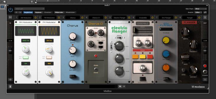 IK-Multimedia Mixbox Plug-In Effekt Rack