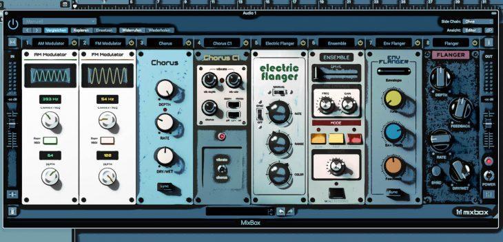 Test: IK-Multimedia Mixbox Plug-In Effekt Rack