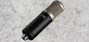 Test: IMG Stageline ECMS-90, Großmembran-Kondensatormikrofon