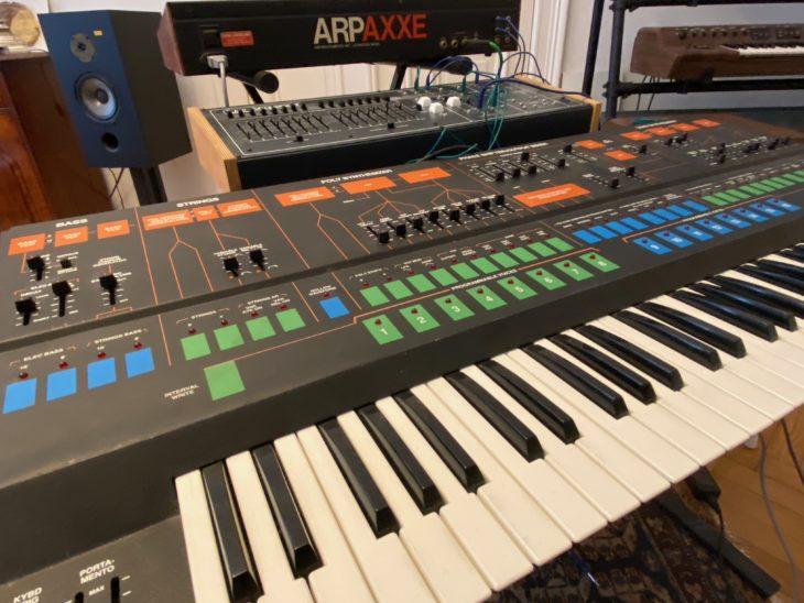 Mehrere Instrumente zu verbinden, ist ein Vorzug des ARP 1601.