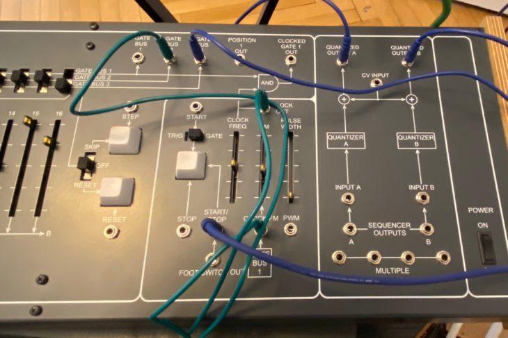 Das A und O beim ARP 1601: Kabel stecken und experimentieren!