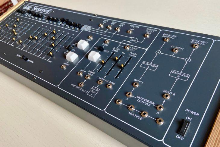 Der ARP 1601 verfügt über einen eigenen Einschalter.