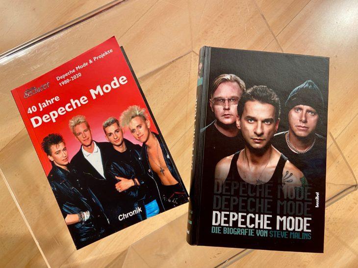 Depeche Mode - Violator - Zwei Bücher zum Thema