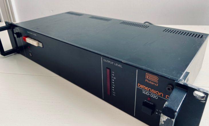 Nichts geht über das originale Roland Dimension D Chorusgerät aus dem Jahr 1979.