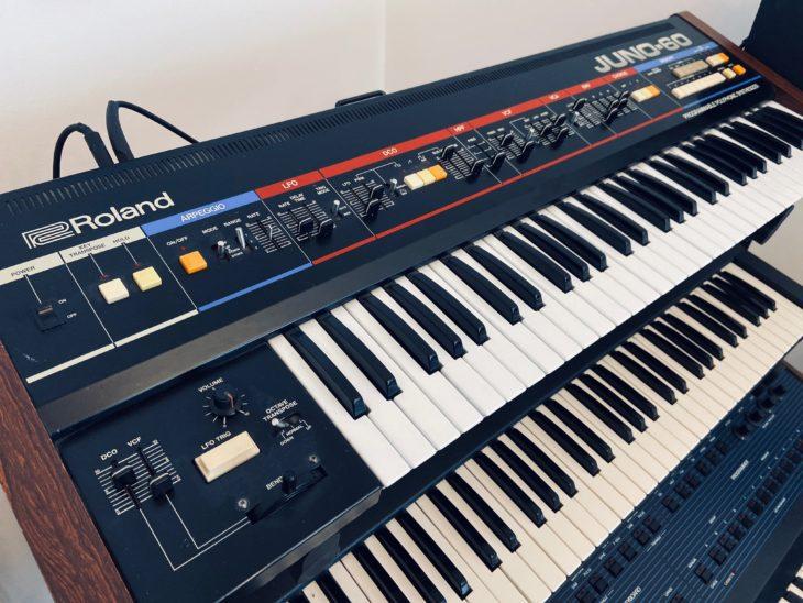 Der Juno 60 hat einen Chorus-Effekt-Einheit eingebaut.