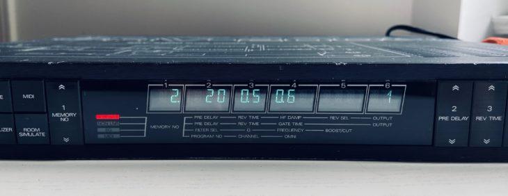 Das Roland SRV-2000 im Edit Mode
