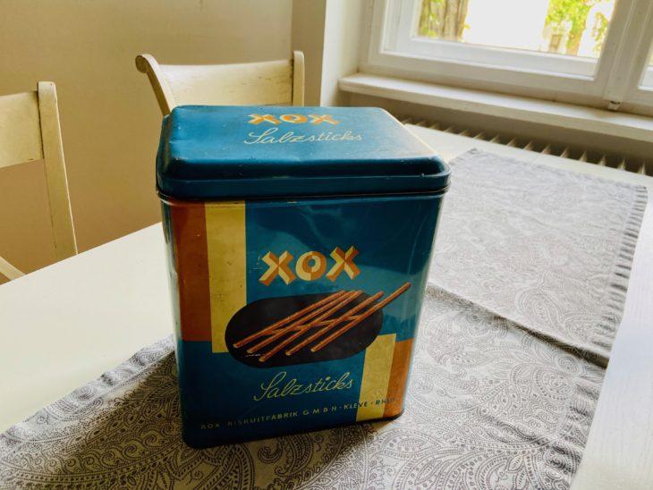 Auch die Abmessungen einer Keksdose können für einen Hall spannend sein.