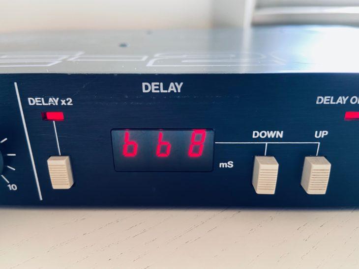 Ideal für Dubeffekte - das Roland SDE-2000