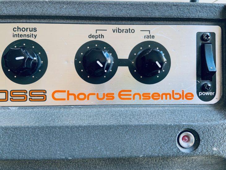 Die Vibrato-Sektion des Boss CE-1
