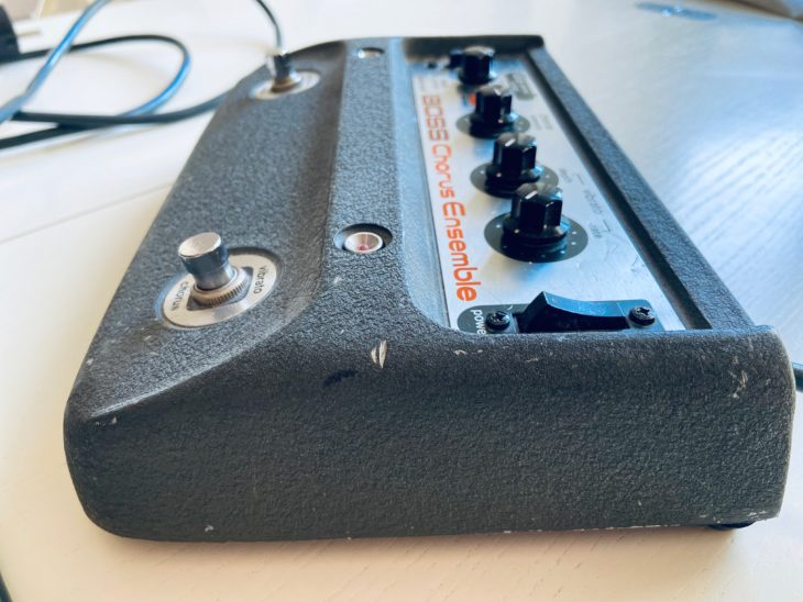 Build like a tank - das Boss CE-1-Chorusgerät