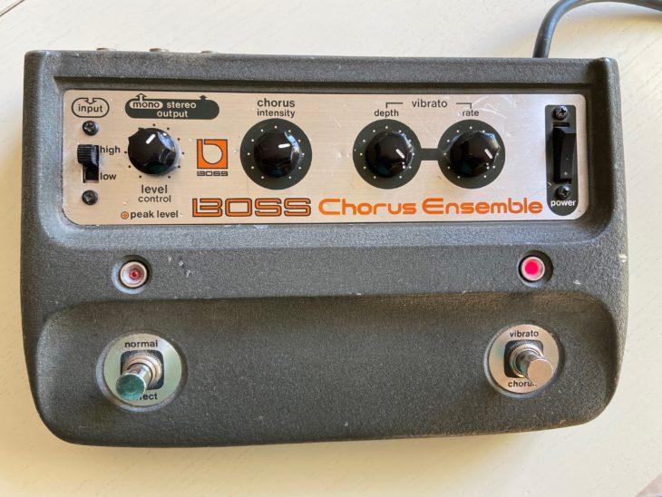 Das Boss CE-1 Chorusgerät.