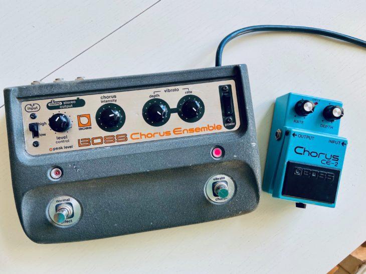 Der Boss CE-1 und sein Nachfolger CE-2