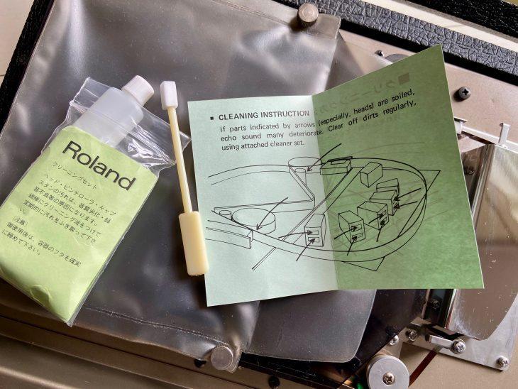 Das Originalreinigungsset für das Roland Space Echo