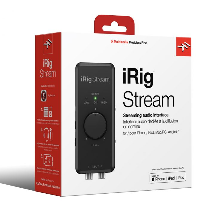 iRig Stream Box