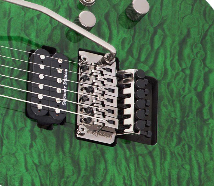 Jackson Pro Soloist SL2Q E-Gitarre Floyd Rose