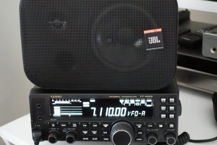 JBL Control 1Pro an Yaesu FT-450D