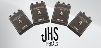 Test: JHS Legends of Fuzz, Verzerrer-Pedale