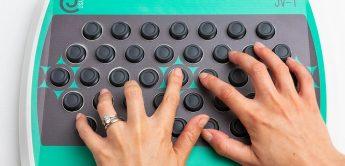 Joyst JV-1 – MIDI-Controller mit 39 Joysticks