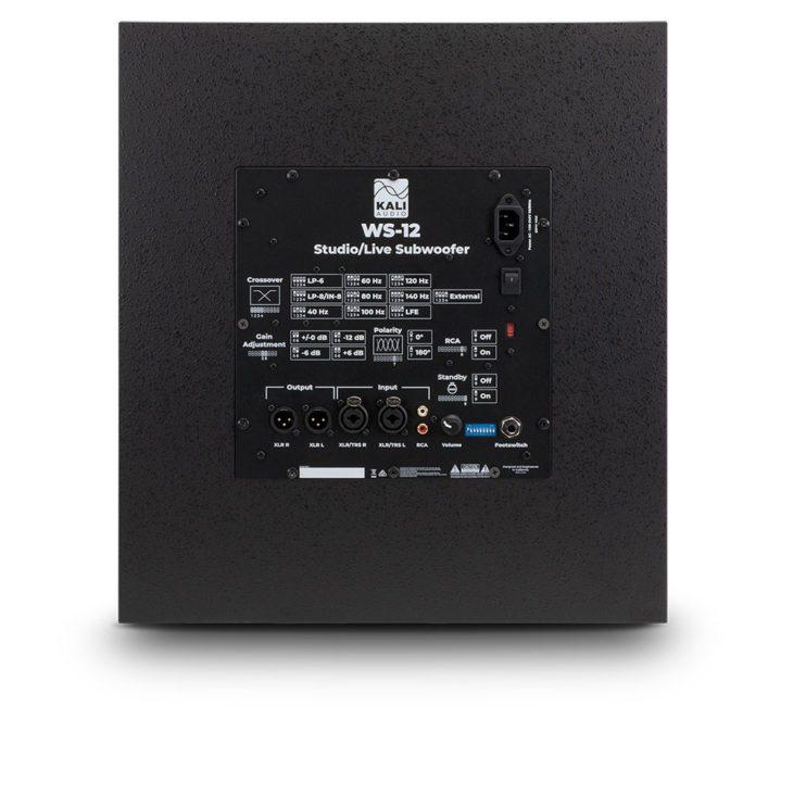 test Kali Audio WS-12 Crossover Frequenzen ohne Ende