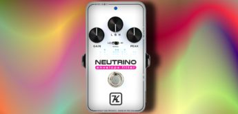 Test: Keeley Neutrino Envelope Filter V2, Filter-Pedal