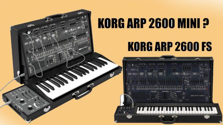 Korg ARP 2600mini Semi-Modular-Synthesizer