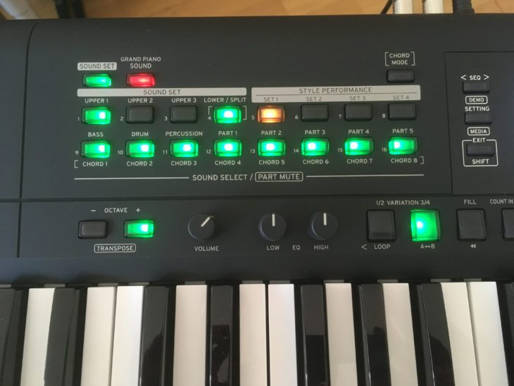 test korg i3 workstation