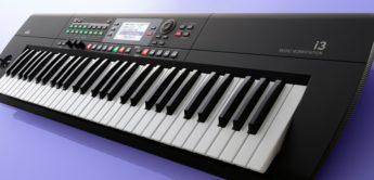 NAMM 2020: Korg i3 Music Workstation mit neuen Sounds und Styles