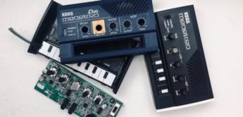 DIY: Korg Monotron Duo als Modular-Synth im Eurorack-Format
