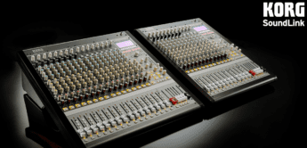 NAMM 2020: Korg stellt Hybrid Analog/Digital Mischpulte MW-2408/MW-1608 vor
